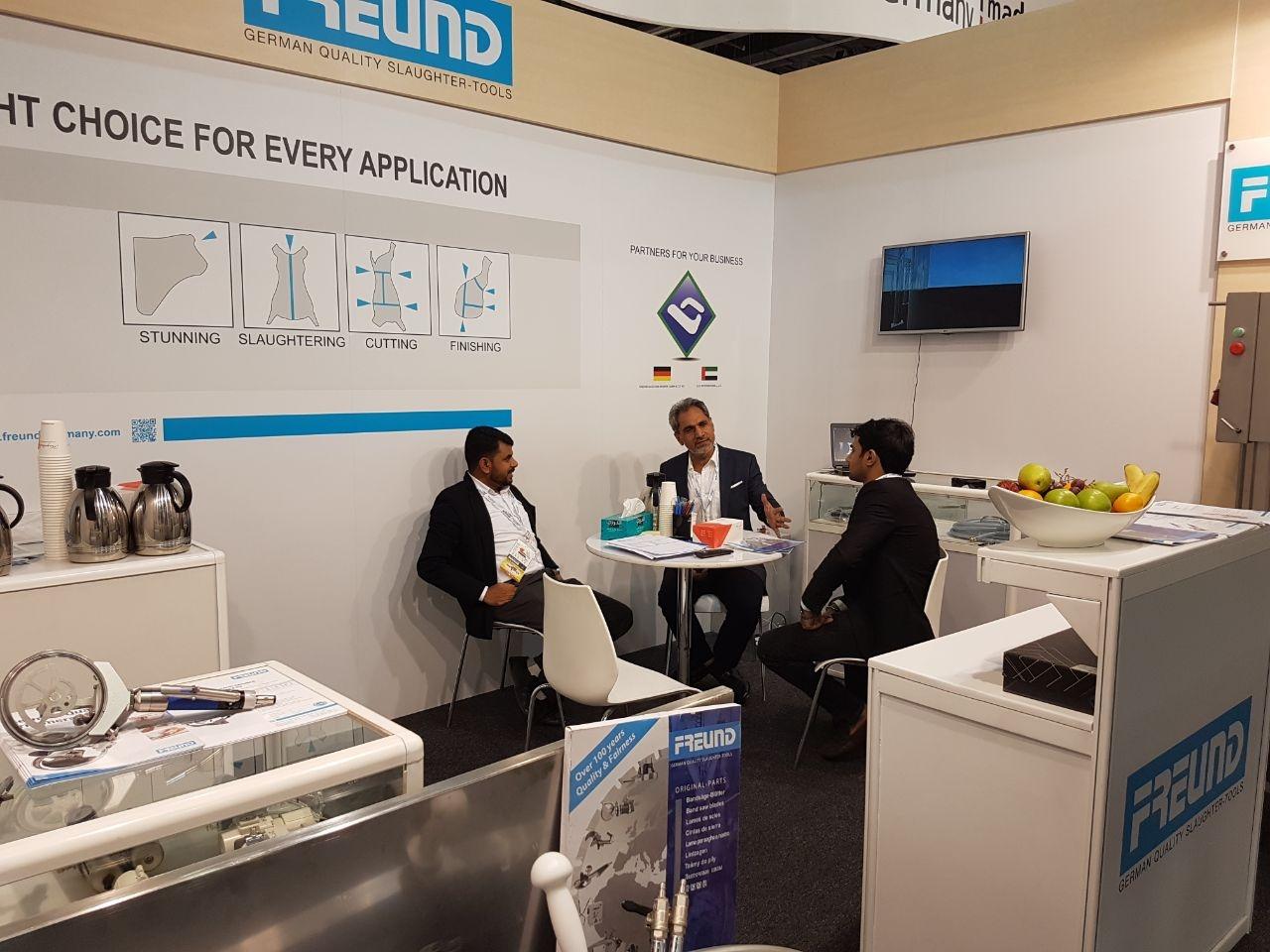 FREUND auf der Gulfood Manufacturing 2017 in Dubai